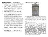 C. PLINIUS MARCELLINO SUO S. (1) Tristissimus haec tibi scribo ...