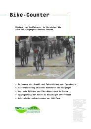 Bike Counter System (deutsch) - Schuh & Co. GmbH