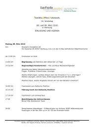 flexible.office.netzwerk. 08. und 09. März 2010 EINLADUNG UND ...