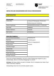 Arbeitsgruppen im Schulhaus Rüeggisingen.pdf - Schulen Emmen
