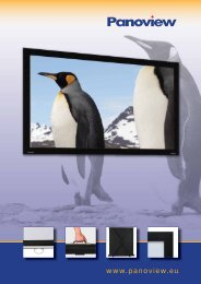 Introducing Panoview Projector Screens - Buythis