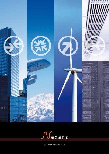 Rapport annuel 2010 - Nexans