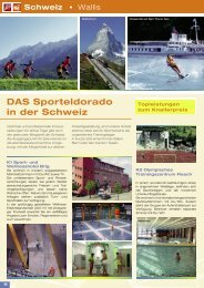 DAS Sporteldorado in der Schweiz - Schulfahrt.de