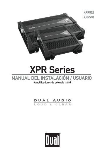 XPR Series - Dual Electronics