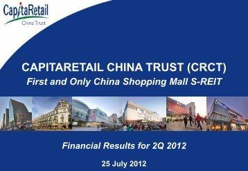 Attachment 1 - CapitaRetail China Trust