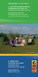 Tag des barrierefreien Tourismus - ITB Berlin Kongress
