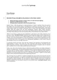Press release (pdf, 165.61KB) - Zumtobel Group