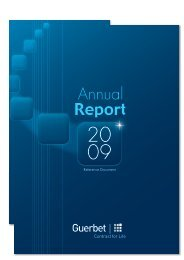 2009 registration document including the annual report - Guerbet