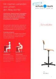 Schulpulte - Tische - Zeichentische Sana ... - AG für Schule & Raum