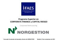 IFAES_International_Faculty_for_Executives ... - NORGESTION