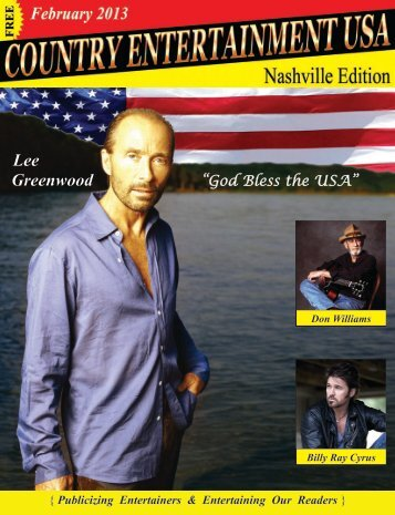 February 2013 Issue - Country Entertainment USA