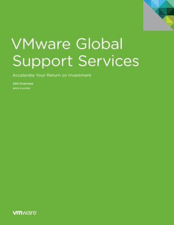 VMware Global Support Services - VMware Communities