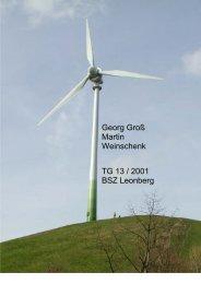 Referat Windkraft