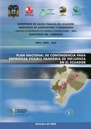 plan nacional de contingencia para enfrentar posible pandemia de ...