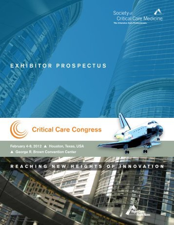 R eachingnewheightsofin novation - Society of Critical Care Medicine