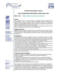 PSR 2007-2013 Regione Toscana Asse 2 ... - Promofirenze