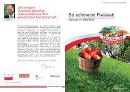 Download der Genussfibel Freistadt - Genussland Oberösterreich