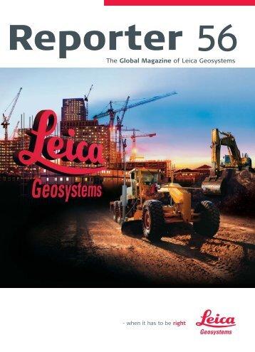 Reporter No. 56, April 2007, English (PDF, 2,12 MB) - Leica ...
