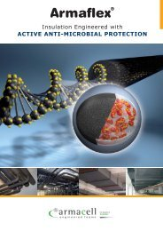 Armaflex - Insulation Engineered With Active Anti ... - Armacell