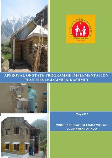 RoP Booklet JAMMU & KASHMIR-2012-13 - National Rural Health ...