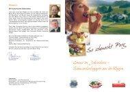 SoschmecktPerg Genuss im Jahreskreis - Genussland Oberösterreich