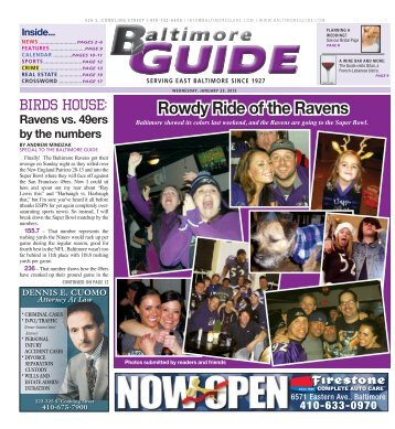 Rowdy Ride of the Ravens - The Baltimore Guide