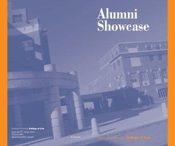 Alumni Showcase - Syracuse University College of Law