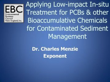 Applying Low-impact In-situ Treatment for PCBs & other ...