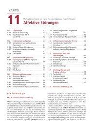 Kapitel 11 - Affektive Störungen - Psychische Erkrankungen