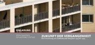zukunft der vergangenheit - Architektenkammer des Saarlandes