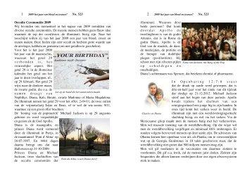 2009 het jaar van bloed en tranen? no. 523 - Pentahof.nl