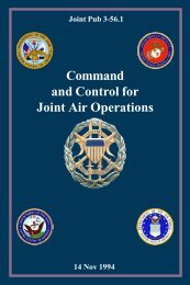 JP 3-56.1 Command and Control for Joint Air ... - NPS Publications