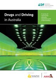 Drugs and Driving in Australia - DrugInfo - Australian Drug Foundation