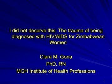 Clara M. Gona