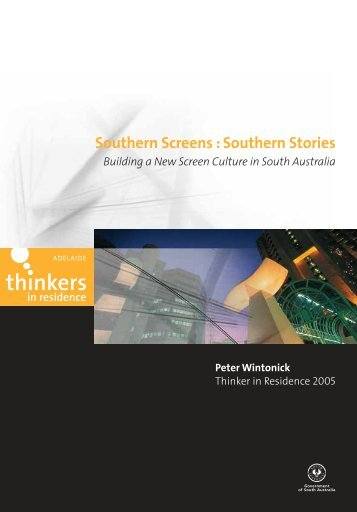 Southern Stories - Adelaide Thinkers in Residence - SA.Gov.au