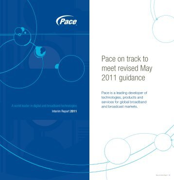 Pace Interim Report 2011
