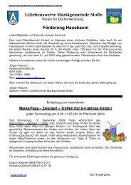 Amtliche Mitteilung - Oktober (352 KB) - Molln