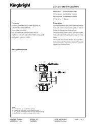 Description 2.0x1.2mm SMD CHIP LED LAMPS Package ...