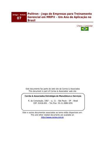 Politron - Correa & Associados