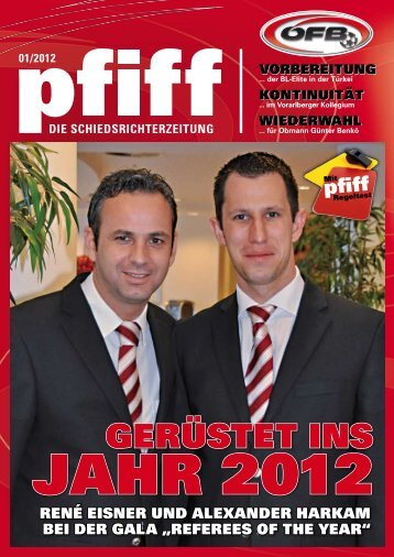PFIFF Ausgabe Nr. 1 - 2012 - Schiri.at
