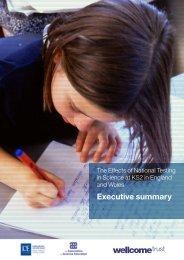 Executive summary - Wellcome Trust