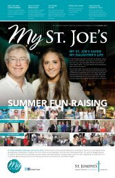Summer 2013 - St. Joseph's Health Centre Foundation