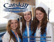 the 2012-2013 Catskill Central School District Calendar