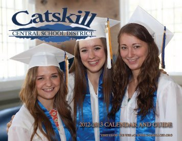 the 2012-2013 Catskill Central School District Calendar