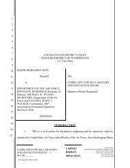 Complaint - ACLU of Washington