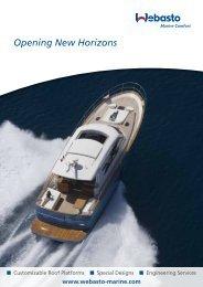 Download Roof Brochure - Webasto Marine Comfort
