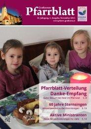 Gratkorner Pfarrblatt Ausgabe 5/2013 - Pfarre Gratkorn St. Stefan