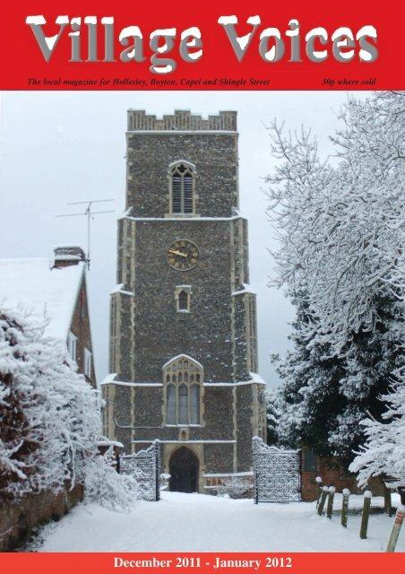 December 2011 - January 2012 - Village Voices
