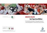 ErstE HilfE - Schulsport NRW aktiv