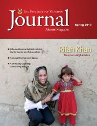 Rifah Khan - University of Winnipeg